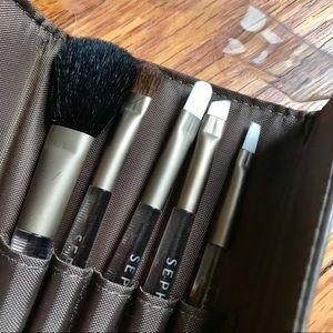 New Sephora Mini Brush Set